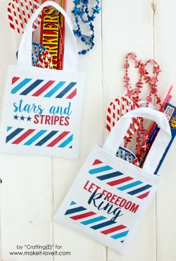 DIY Fourth of July Parade Bags (With Printable Designs)
