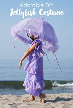 Adorable DIY Jellyfish Costume