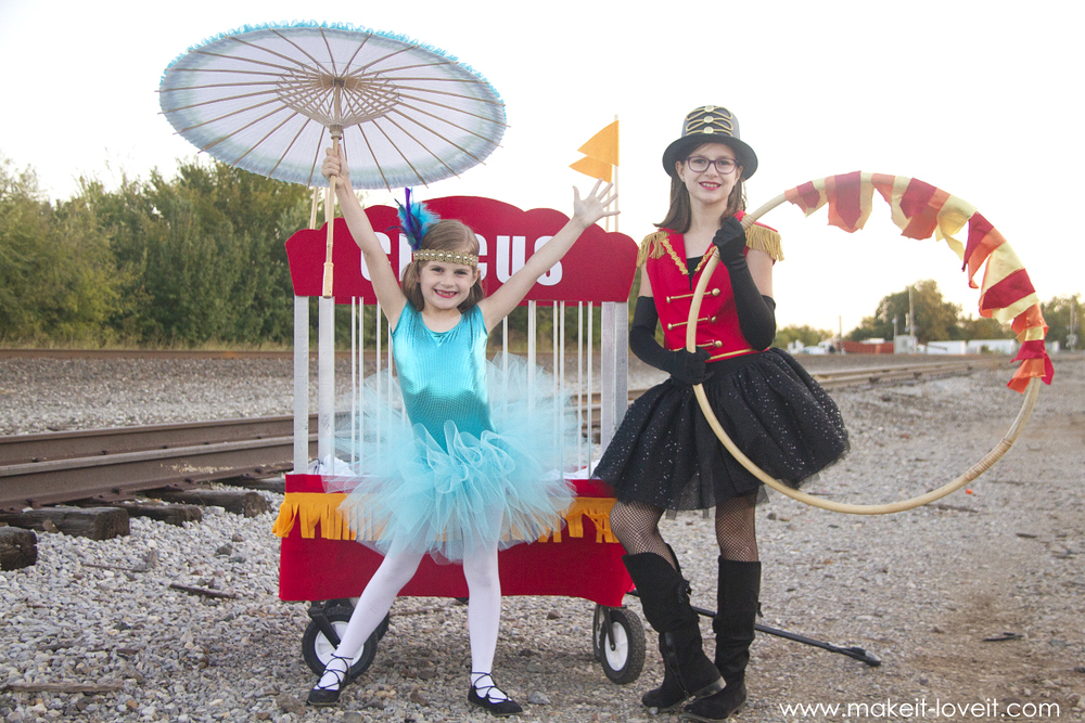 DIY CIRCUS Themed Costumes?all 5 KIDS (plus a VIDEO)!!!