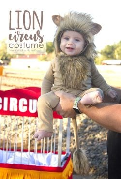 Make a LION Circus Costume