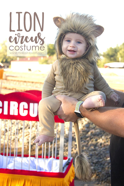 Make a LION Circus Costume