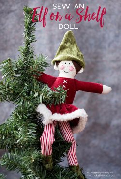 "Sew an ""Elf On The Shelf"" Doll"
