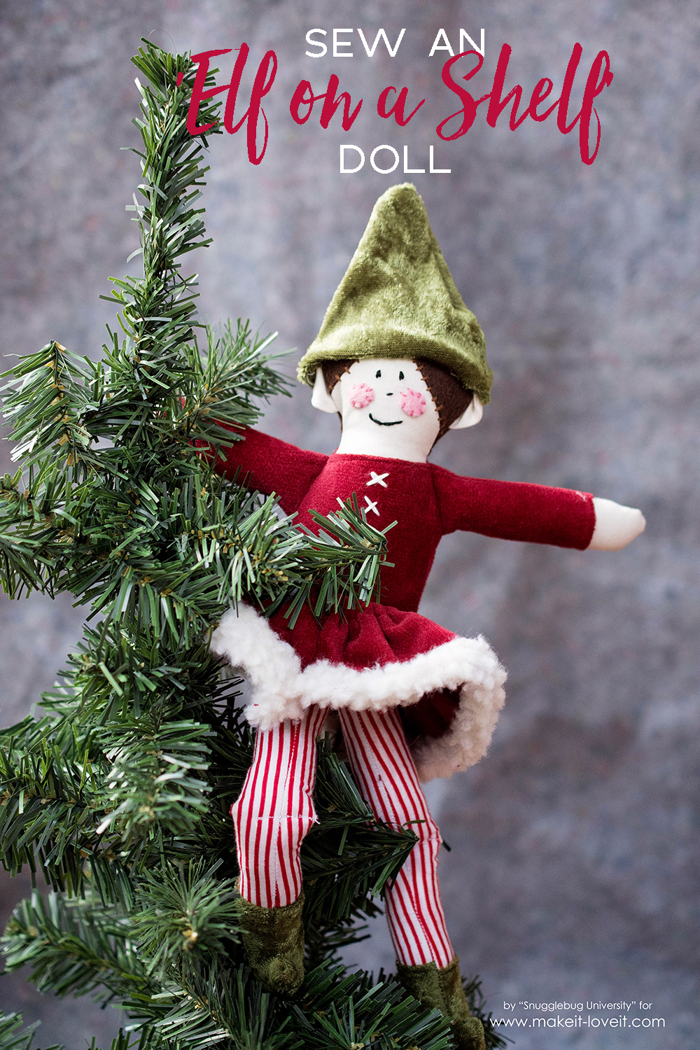 Sew an Elf On the Shelf Doll