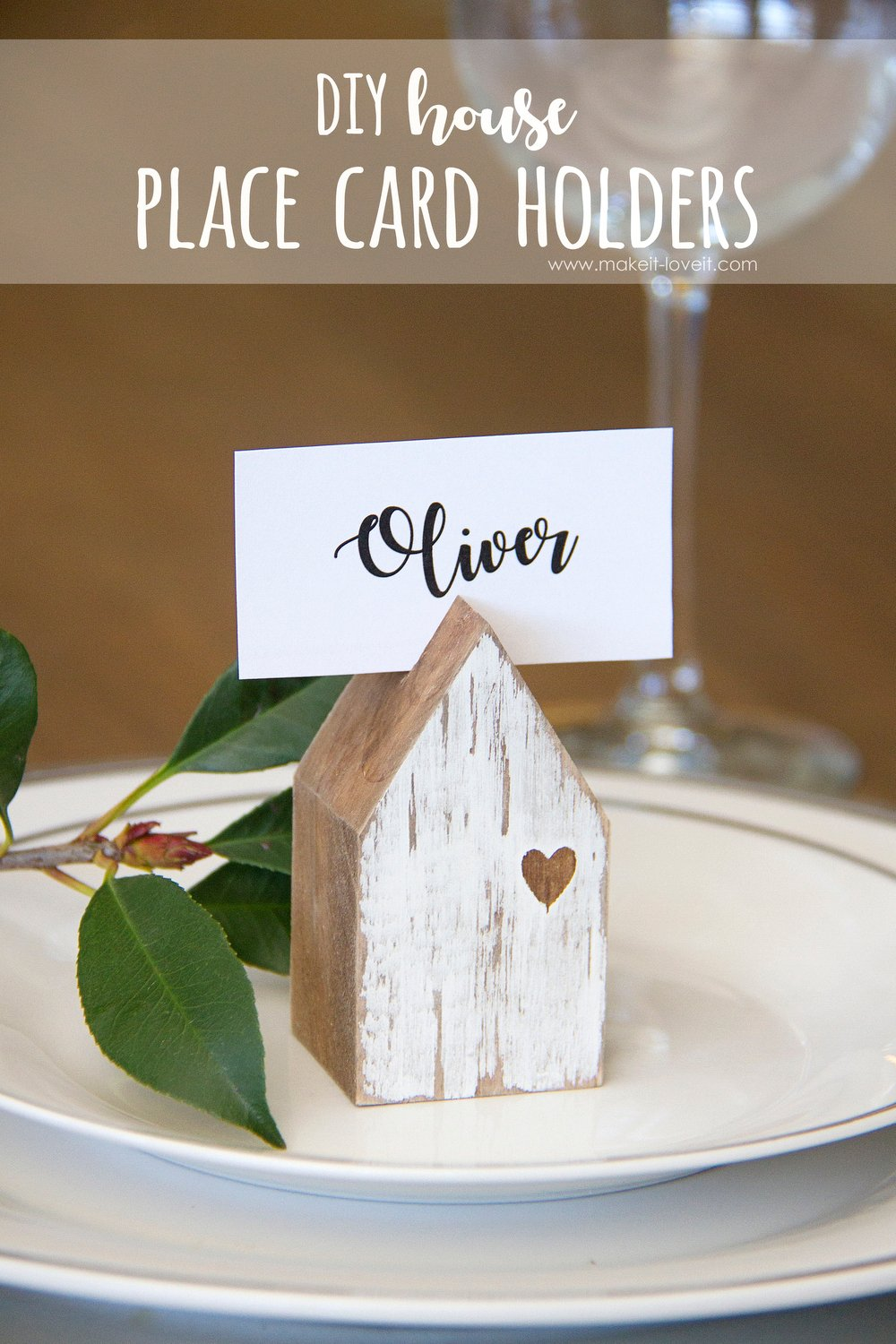but i didnu0027t want ones that were specific to one thatu0027s why my husband and i created these super cheap house place card holders