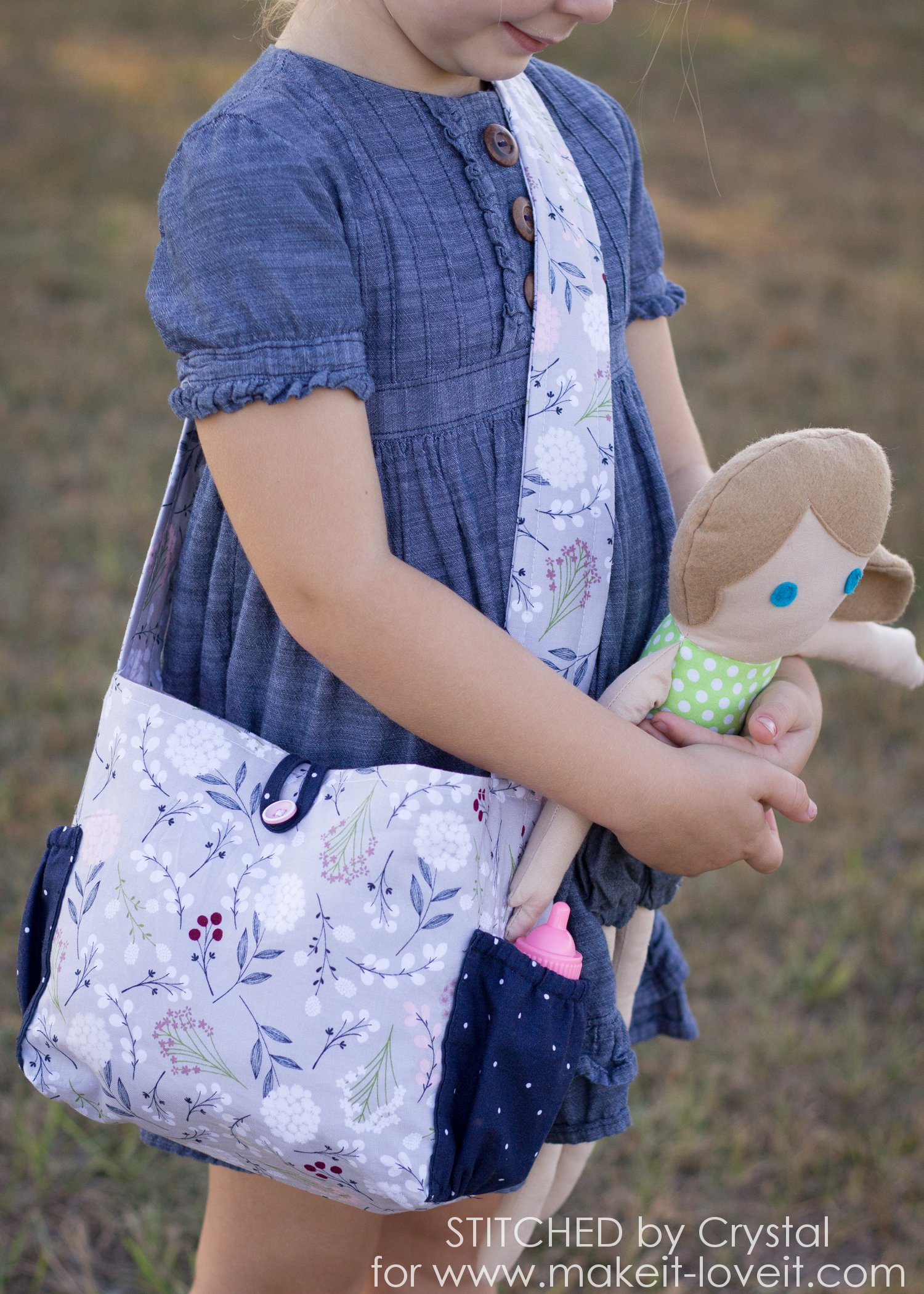 Sew a Doll Diaper Bag